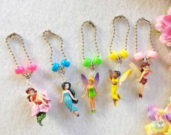 10 Fairy Zipper Pull Party Favors