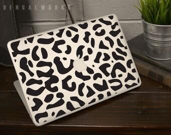 Leopard Print Macbook Decal | Macbook Sticker | Laptop Decal | Laptop Sticker