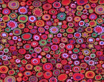 PAPERWEIGHT- gypsy red by the half yard Kaffe FASSETT Classics cotton quilt craft fabric Westminster Fibers-gp20