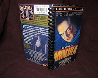 Dracula VHS Tape Box Notebook