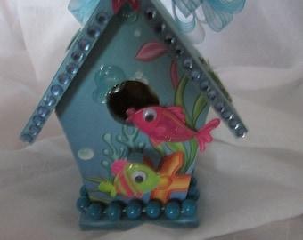 FISH AQUARIUM  Birdhouse