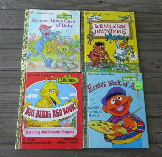 Little Golden Books Lot of 25 - Vintage, Disney, Sesame Street