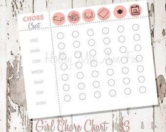 Girl Chore Chart
