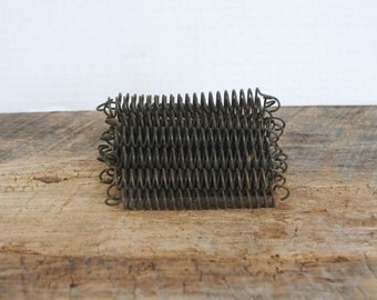 Upholstery Springs Rusted Coiled Wire Vintage Reuse Repurpose Set of 25
