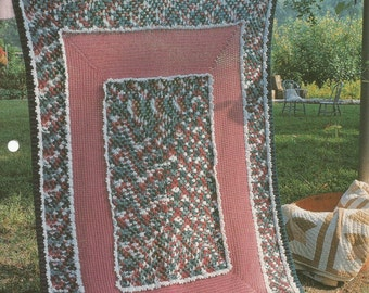 The Needlecraft Shop Country at Heart Grandmother's Lace Afghan Collector's Series Pattern