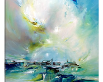 iCanvas Spring Light Gallery Wrapped Canvas Art Print by J.A Art