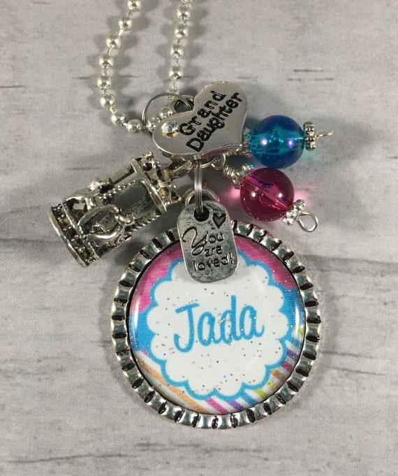 Granddaughter Necklace / Birthday Gift For Little Girl