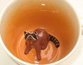 Raccoon Surprise Mug (In Stock)