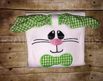 Customized Bunny with 3-D Floppy Ears T-Shirt