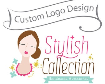 Creative character logo design - Custom Business Logo - custom logo design - Personalized Logo - Unique Logo Design - OOAK Logo Design