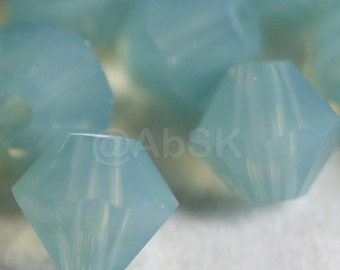 Swarovski Crystal Beads BICONE 5328 5301 PACIFIC OPAL - Available in 3mm, 4mm, 5mm and 6mm