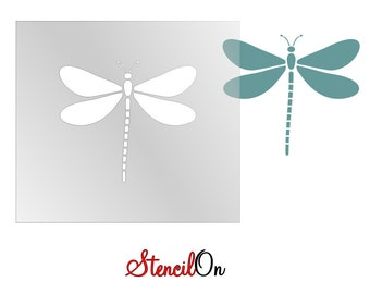 Dragonfly Craft and Wall Stencil - Reusable Mylar