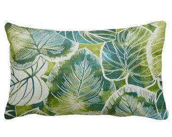 Lumbars,Outdoor Chair Pillows, Floral OUTDOOR Pillows,Throw Pillow,Blue Patio Pillows, Outside Pillows, Tropical Pillow Covers, Pool Pillows