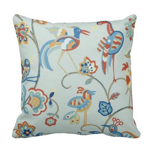 Outdoor Throw Pillows Birds : Items similar to Outdoor Bird Pillows, Outdoor Throw Pillows,Patio Pillows, Pool Pillows,Grey ...