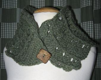 Make-it-in-an-Evening Cowl - Crochet Patterm