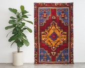 4x6 Hand Knotted Turkish Wool Rug