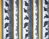 SUPER SALE Safari Stripes from Quilting Treasures