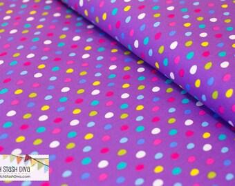 Easter Egg Dot Purple from Michael Miller