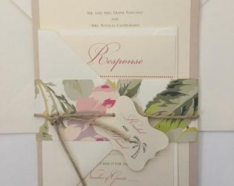 The Rachel/Destination Wedding Invitation