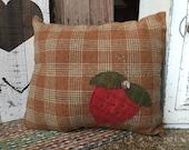 Strawberry Fields Pillow