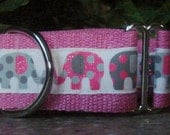 Elephants...Pink and Grey