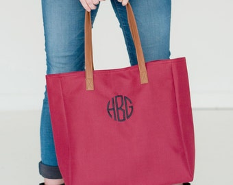 Monogrammed Game Day Tote - Monogrammed Purse - Monogrammed tote Bag - Football Season - Tailgate tote - Christmas Gift