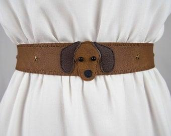 Sausage Dog Belt ~ Handmade ~ Only 1 Left! ~ Dachshund Badger Dog Dachsie