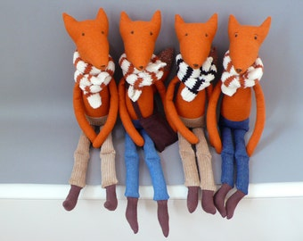 Foxy SALE!! Esteban 91 Fox Plush Softie Puppet Toy
