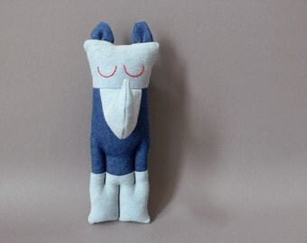 Rhino - Baby Plush Toy stuffed Doll Plushie Softie