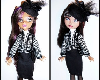 Monster/Ever After Doll Outfit  - Haute Couture - Chanel inspired Outfit