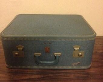 Vintage Square Suitcase