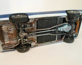 Scale Model,OOAK, Pontiac Car, Rusted Wreck,RatRod, Handmade,Pontiac GTO