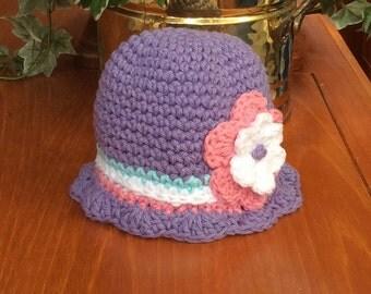 Girls hat, cotton hat,