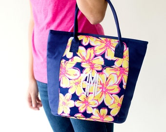 """Shop """"monogram tote"""" in Food & Insulated Bags"""