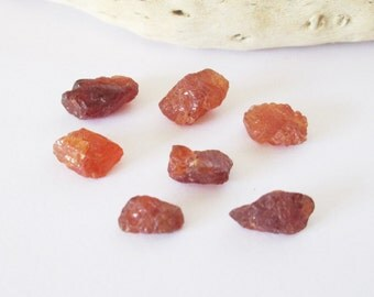 Natural Hessonite Garnet Rough Lot 25.65cts