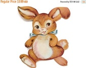 CLOSING SALE Die-Cut Card Stock Easter Bunny Rabbit Decoration