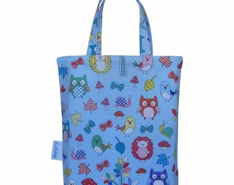 Forest Animals Fabric Party Bag