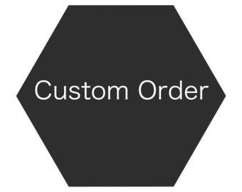 RESERVED ORDER FOR G - Custom Wedding Band Band His & Hers Set