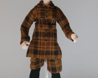 Dollshouse Miniature RIGBY - OOAK Handcrafted 1/12 scale Male Doll
