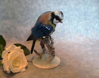 Rosenthal Blue Bird Figurine Hand Painted in Germany