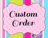 Custom 1st Birthday Garlands