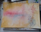 Large watercolour abstract
