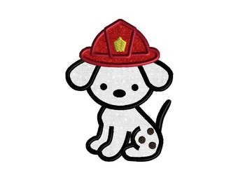 Dalmatian Applique Embroidery Design for Machine Embroidery-INSTANT DOWNLOAD