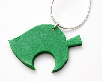 Animal Crossing New Leaf necklace - nintendo, acnl, new leaf accessories, video games, gaming