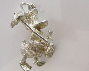 Silver Donald Duck at The Beach Charm