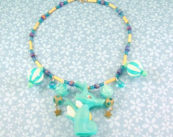 SALE - Kingdra Pokemon Necklace