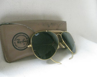 Vintage RARE RAY BAN Sunglasses and Case