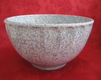 Vintage Blue and White Boonton Bowl