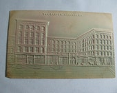1908 Augusta , GA. Heavily Embossed Bias Relief postcards