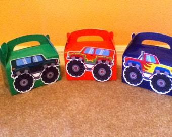 Cute Monster Truck Boxes